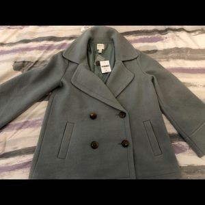 Forever 21 Buttoned pea coat!! New with tags!